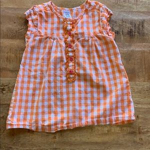 Shirts & Tops - Carter's Checkered 2T Tunic